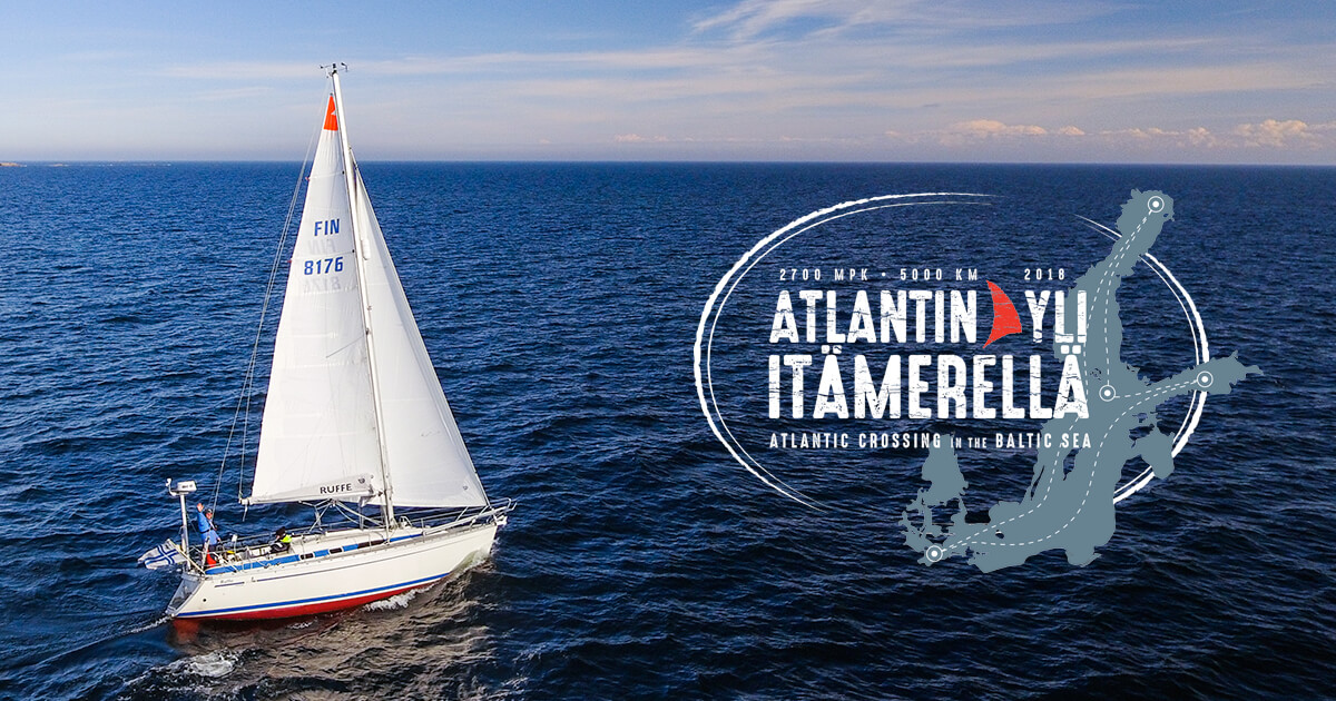 Atlantin yli Itämerellä